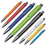 Kugelschreiber Jamaica bedruckt mit Ihrer Werbung Druck Logo Druck 4-farbig Fotodruck, Menge:100 Stück, Farbe:Schwarz