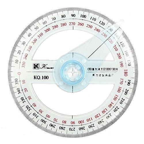 Tutoy Rampe De Racleur À 360 Degrés en Plastique De 360 ??Cm Angle Finder