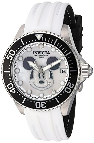INVICTA WOMEN'S DISNEY LIMITED EDITION SILICONE BAND AUTOMATIC WATCH 22753