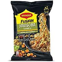 MAGGI Fusian Yakisoba Noodles Curry - Fideos Orientales - Bolsa 120g (2 raciones)