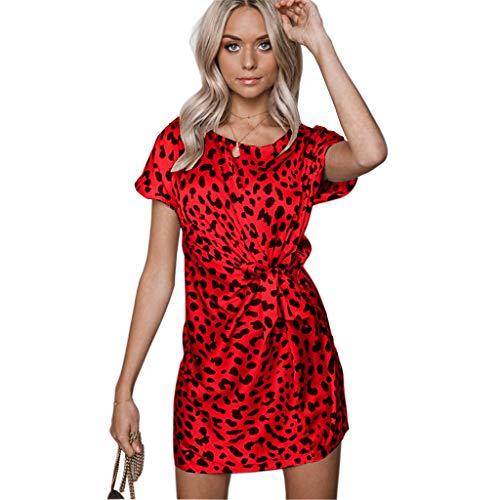HIKO23 Damen Kleider - Sexy elegant Bedruckte Spaghettiträger, seidiger Satin, Party, Club, Cocktail, figurbetont - Mehrfarbig - Groß J Renee Satin-heels