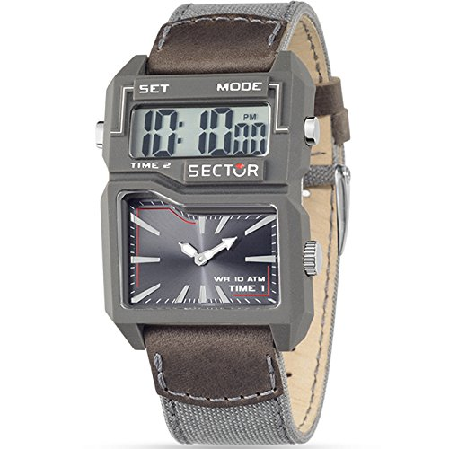 Uhr Dual Time Grey Street Fashion R3251584002 Sektor