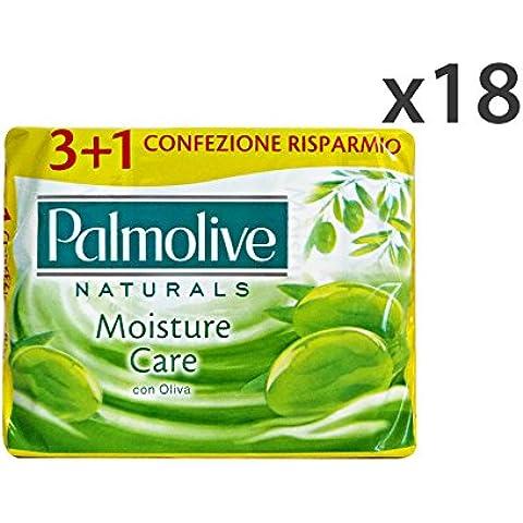 Set 18 PALMOLIVE Saponette verdi 3+1 pz. oliva 90 gr. - Barra de jabón