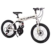 Land Rover G4 Challenge Folding Bike - LR20S-21, White