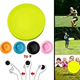 Terra Tu Mini Frisbee, Disco Volante 2019 Mini Pocket Flessibile Soft New Spin in Catching Game