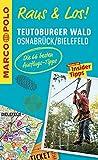 MARCO POLO Raus & Los! Teutoburger Wald, Osnabrück, Bielefeld: Guide und große Erlebnis-Karte in praktischer Schutzhülle