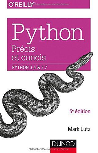 Python précis et concis - Python 3.4 et 2.7