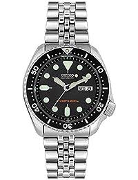 Seiko Herren-Armbanduhr Analog Automatik Edelstahl SKX007K2