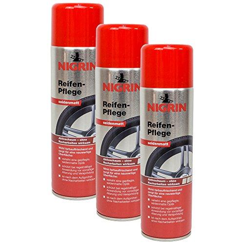 Preisvergleich Produktbild 3x NIGRIN 74075 Reifen-Pflege 500 ml
