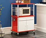 CYJZ® Estante, Estantería Horno microondas Electrodomésticos Cocina multifunción Estantería Fuerte capacidad de carga