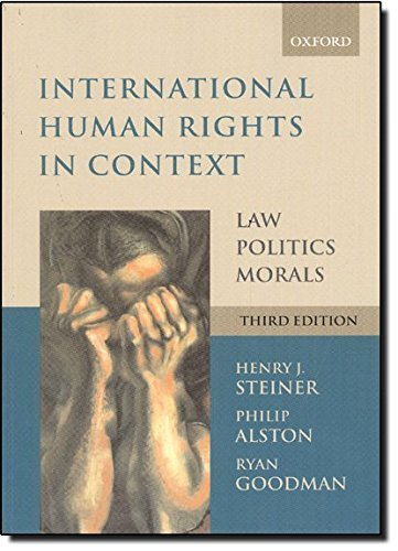 International Human Rights in Context: Law, Politics, Morals by Philip Alston (2007-09-13)
