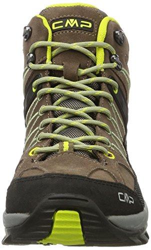 C.P.M. Rigel, Chaussures de Randonnée Hautes Homme Marron (Tabacco)