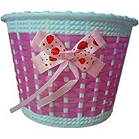 WA bicicleta cesta de flores cesta de mimbre cesta bicicleta ciclo de plástico para