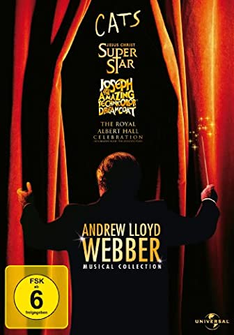 Andrew Lloyd Webber - Musical Collection [4 DVDs]