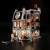 LIGHTAILING Jeu De Lumières pour (Marvel Super Heroes Saint des Saints) Modèle en Blocs De Construction - Kit De Lumière A LED Compatible avec Lego 76108(Ne Figurant Pas sur Le Modèle)