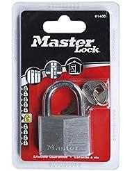 Master Lock Cadenas en aluminium Métal Brossé 30 mm