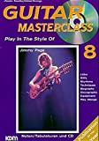 Guitar Masterclass, m. CD-Audio, Bd.8, Play In The Style Of Jimmy Page, m. 1 CD-Audio