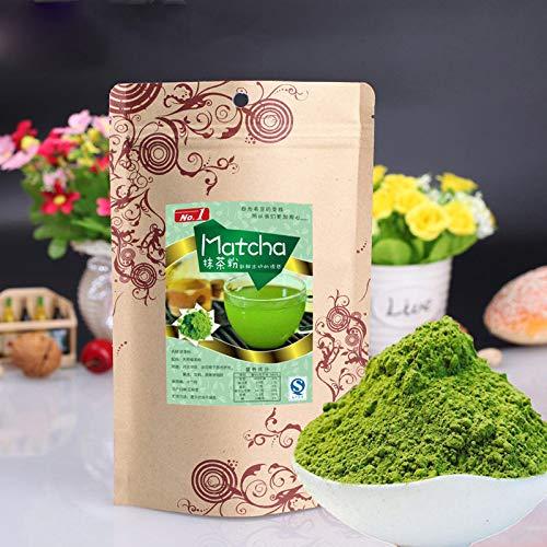 100g (0.22LB) polvo de té verde japonés Matcha 100% té de adelgazamiento orgánico natural té de Matcha té chino té crudo sheng cha comida sana comida verde