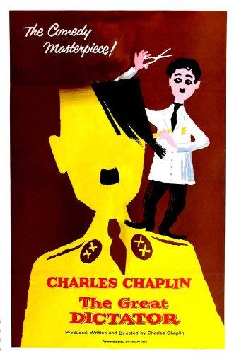 The Great Dictator Affiche du film Poster Movie Le dictateur grand (11 x 17 In - 28cm x 44cm) Style D