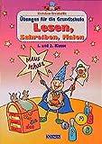 Karlchen Krabbelfix, Übungen für die Grundschule, Lesen, Schreiben, Malen, 1. und 2. Klasse