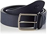 Lacoste Rc4005 Men's Engraved Buckle Texturised Leather