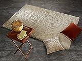 SOFTGROUND SHAGGY weicher kuscheliger Hochflor Langflor Teppich in beige, Größe: 140x200 cm