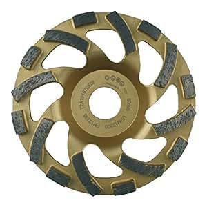Plateau disque diamanté Virgule 125 pour ponçage et surfaçage de béton et matériaux