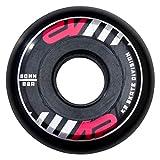 K2Street Wheel 30B3016.1.1.1SIZ Lot de 4 roulettes Multicolores, Taille Unique de 60mm