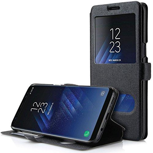 Samsung Galaxy S8 Plus Funda, Danibos Funda protectora case cover para Samsung Galaxy S8 Plus(Negro)