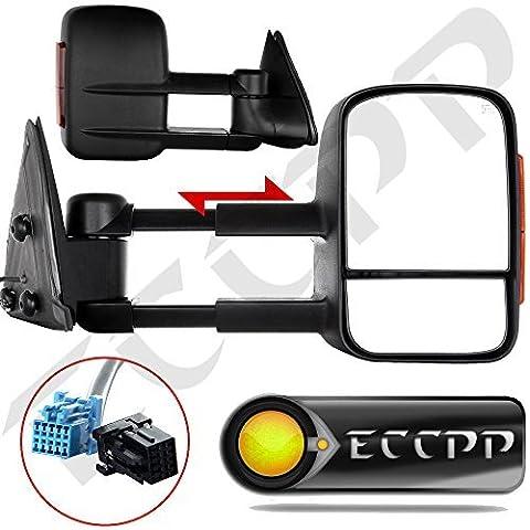 ECCPP Towing Mirrors Pair Set For 2003-06 Chevy Silverado 1500