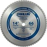 oshlun sbfs-14006635,6cm 66Zahn Sägeblatt mit 1Arbor für Edelstahl