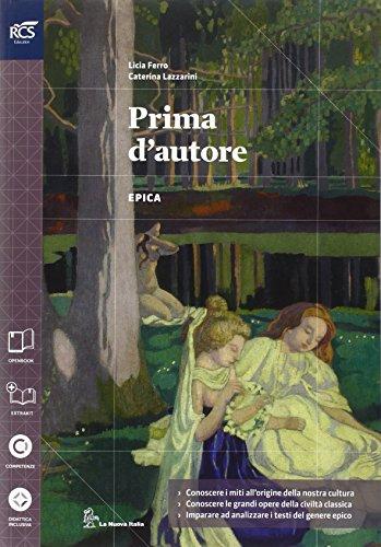 Prima d'autore. Con Extrakit-Openbook. Per le Scuole superiori. Con e-book. Con espansione online: 1