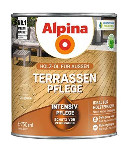 Alpina Intensive Pflege für Hartholzböden im Außenbereich