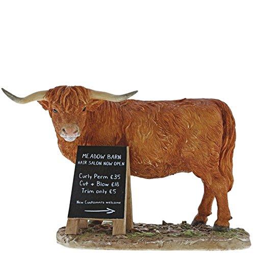 Kitchy & Co Meadow Barn - Decorative Figure, Resin ,, 85 x 160 x 105 cm