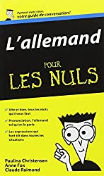 L'Allemand - Guide de conversation Pour les Nuls