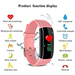 Fitness Tracker Smart Wrist Watch U Watch Phone Mate For IOS Android Vneirw UPX 087 Colour Display Sports Watch Smart Watch With Waterproof Heart Rate MonitorPedometerSleepCalorie