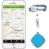 Podofo Mini GPS Tracker GSM / GPRS Localizador de Tiempo Real con Mapa Gratuito de Google Impermeable Smart Anti-Perdido Seguimiento Dispositivo para los Niños Mascotas Elder Vehículo Apoyo Android y IOS APP y PC