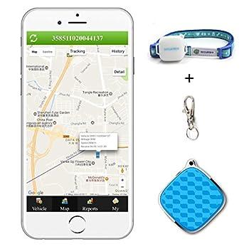 Mini GPS Traceur Podofo GSM/GPRS Localisateur de Suivi en Temps Réel avec Gratuit Google Maps Etanche Smart Antivols GPS Navigation pour Enfants Elder Pets Vehicle Soutien Android et IOS et PC