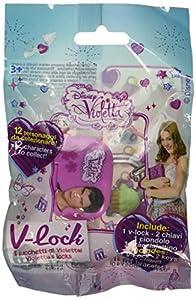 Violetta-V-Lock Candado , Modelos/colores Surtidos, 1 Unidad