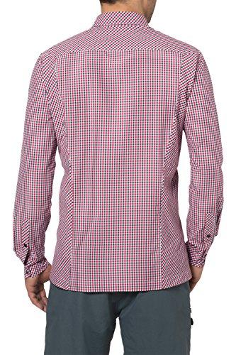 VAUDE chemise pour homme à manches longues grandville chemise iV Rouge - Rouge clair