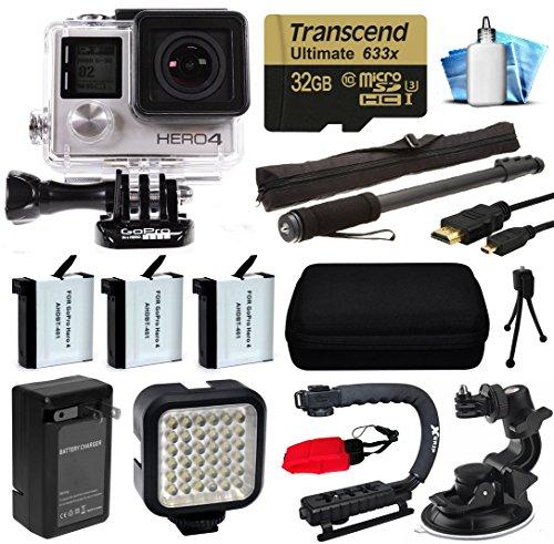 gopro-hero4-hero-4-silber-edition-4-k-action-kamera-mit-32-gb-microsd-karte-3-x-batterien-mit-ladege