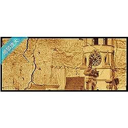 Weaeo Papel Tapiz Mural 3D Personalizado Europeo Medieval Fondo Telón De Fondo Foto Para Sala De Estar Papel Tapiz Mural 3D-280X200Cm