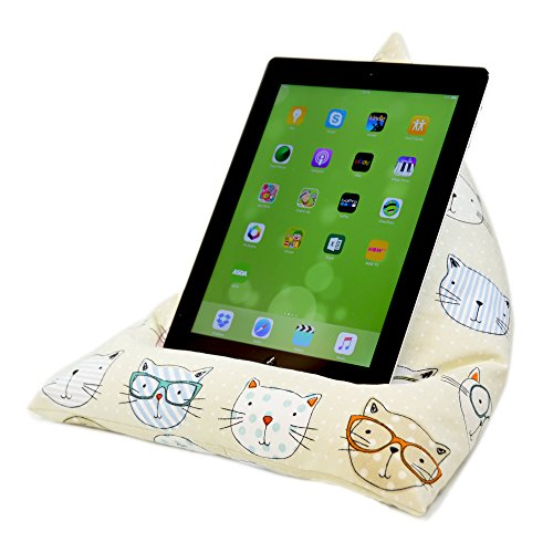 ebean-tablet-cushion-cool-cats-beanbag-stand-lap-holder-suitable-for-all-ipads-tablets-and-ebook-rea