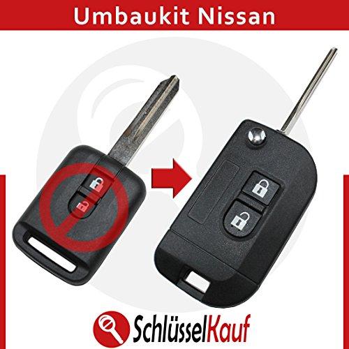 nissan-klappschlussel-umbau-gehause-auto-schlussel-ersatz-xtrail-patrol-navara-neu