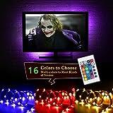 LED TV Retroilluminazione Bias Illimitazione con Telecomando, 6.56ft STRISCIA LED USB TV per HDTV da 40 a 60 pollici, monitor PC