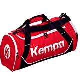 Kempa Handball Sporttasche Medium M 55 x 30 x 29 cm + Trinkflasche (rot)