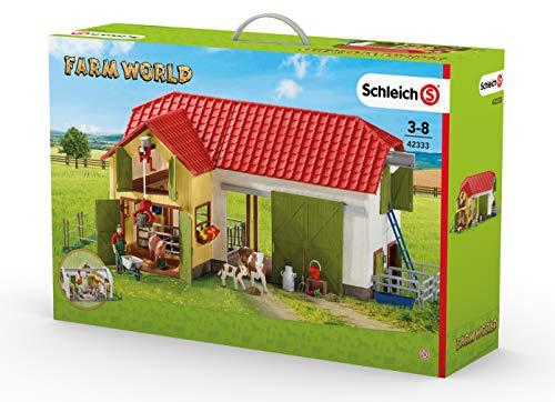 Schleich 42333 - Großer Bauernhof mit Tieren und Zubehör