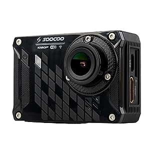 SOOCOO S33WS Pro WiFi Sport Action caméra 1080p 16MP 150 degrés grand Angle 30M Etanche DVR FPV avec 8G SD carte batterie & USB câble casque vélo Base Stand accessoires