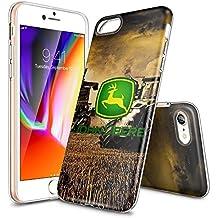 "iPhone 7 Funda, KALKDA absorción de golpes carcasa protectora de Tpu anti-scratch soporta carga inalámbrica para iPhone 7 4.7"" ( Crystal Clear) - KALKDAOG000179"