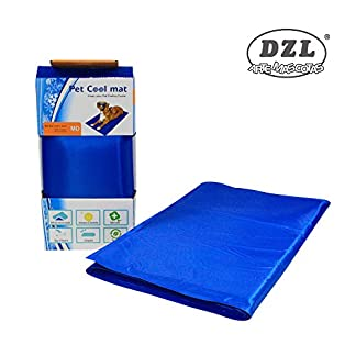 DZL - Cooler Blanket for Dogs, 65 x 50cm. Reduces the feeling of body heat. DZL – Cooler Blanket for Dogs, 65 x 50cm. Reduces the feeling of body heat. 51b2p HpEKL